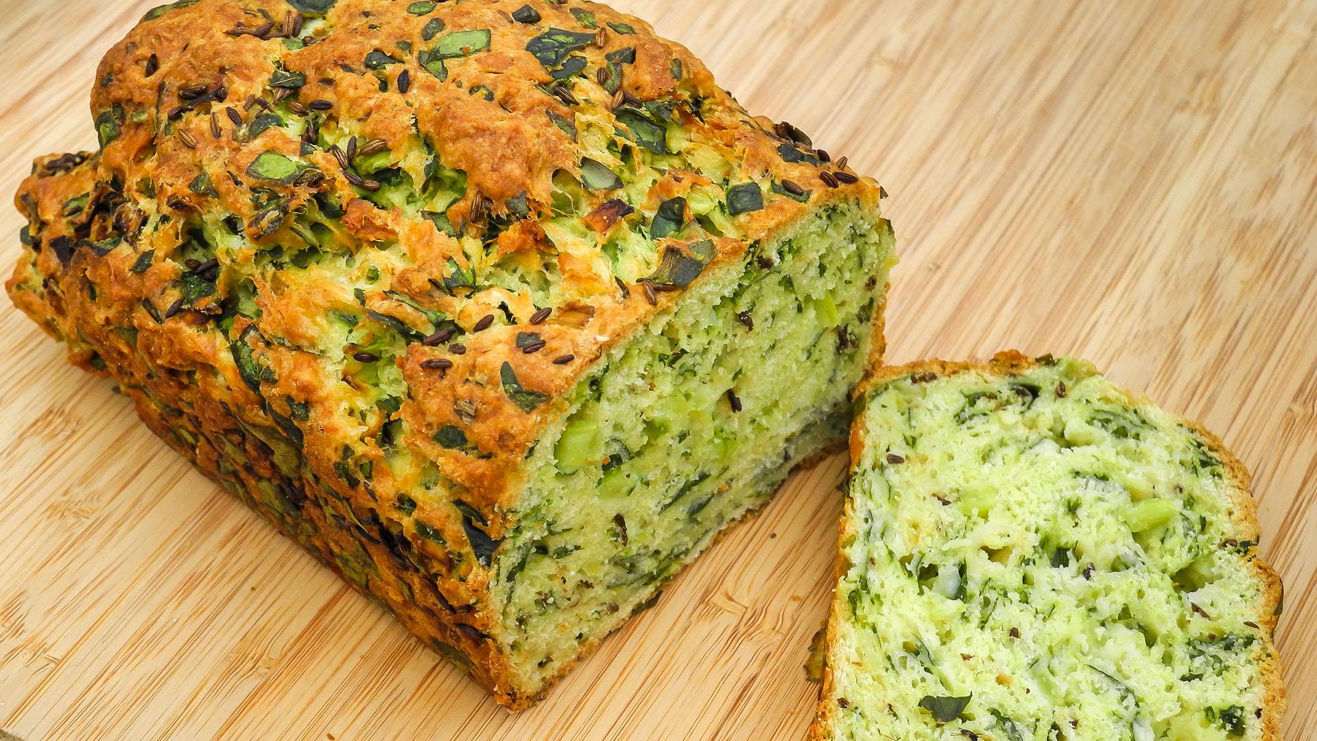 Spinach, Cumin & Cheddar Loaf