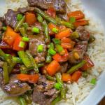 Vietnamese Steak and Lemongrass Stir-Fry